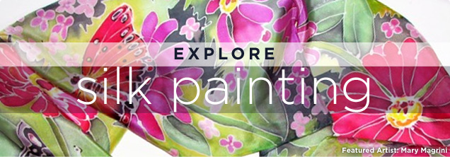Explore Silk Painting