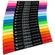 Fabrico Dual-Tip Fabric Markers