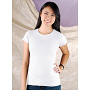 Junior Fine Jersey Longer Length T-shirt (#JLLT)