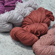 Dyeing Yarn with Cochineal and Madder Root