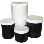 Plastic Storage Jars
