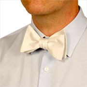 Silk Bow Tie 16.5mm Charmeuse
